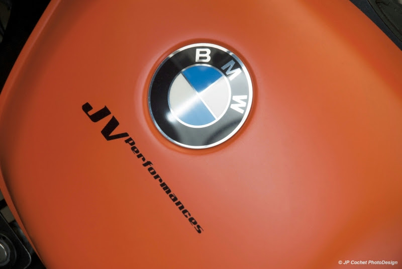 BMW R80 Orange